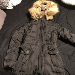 Women's long down jacket mint condition